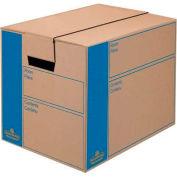 Fellowes 0062701 Smoothmove™ Moving & Storage, Small Box, 12-3/8x17-1/4x12-5/8, Kraft - Pkg Qty 10