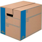 Fellowes 0062701 Smoothmove™ Moving & Storage, Small Box, 12-3/8x17-1/4x12-5/8, Kraft - Pkg Qty 10