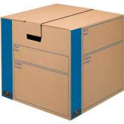 Fellowes 0062801 Smoothmove™ Moving & Storage, Medium Box, 18-1/8x18-3/4x16-5/8, Kraft - Pkg Qty 8