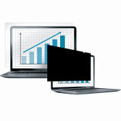 """Fellowes® Laptop/Flat Panel Privacy Filter - 15.6"""" W - Pkg Qty 4"""