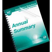 Fellowes® Transparent PVC Covers - Letter, 100/Pack - Pkg Qty 5