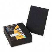 Fellowes®  Linen Presentation Covers - Oversize, Black, 200 pack - Pkg Qty 2
