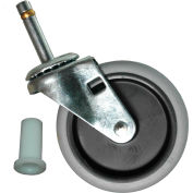 """Rubbermaid® 4"""" Swivel Stem Caster with Insert for Janitor Cart 2000"""