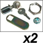 Rubbermaid® Lock Assembly w/Keys for Rubbermaid® Hygen™ Microfiber Cleaning Cart
