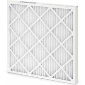 "25""W x 16""H x 2""D Pleated MERV 8 Standard Capacity Air Filter - Global Industrial™ - Pkg Qty 12"