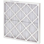 "Global Industrial™ High Capacity Diamond Pleated Air Filter, MERV 10, 25""Wx14""Hx2""D - Pkg Qty 12"