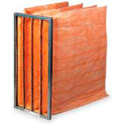 "24""W x 24""H x 36""D 8 Pocket MERV 12 Air Filter - Global Industrial™ - Pkg Qty 4"