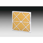"""Global Industrial™ High Capacity Pleated Air Filter, MERV 11, 20""""Wx20""""Hx2""""D - Pkg Qty 12"""