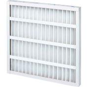 "20""W x 15""H x 2""D Pleated MERV 8 Standard Capacity Air Filter - Global Industrial™ - Pkg Qty 12"