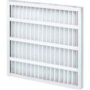 "20""W x 24""H x 2""D Pleated MERV 8 Standard Capacity  Air Filter - Global Industrial™ - Pkg Qty 12"