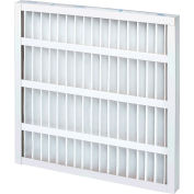 """Global Industrial™ Standard Capacity Pleated Air Filter, MERV 8, Self-Supported, 20""""W x25""""Hx2""""D - Pkg Qty 12"""