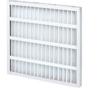 """Global Industrial™ Standard Capacity Pleated Air Filter, MERV 8, Self-Supported, 30""""Wx20""""Hx2""""D - Pkg Qty 12"""