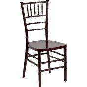 Stacking Chiavari Chair - Resin - Mahogany - Hercules Premium Series