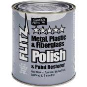 Flitz Metal, Plastic, & Fiberglass Polish Paste 2 Lb Quart  - CA 03518-6