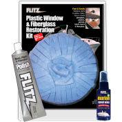 Flitz Plastic, Window, & Fiberglass Restoration Kit - PL 31503