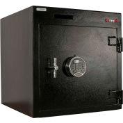 "FireKing Drop Drawer Safe B2020WDIC-FK1 20-1/4""W x 20""D x 20-1/2""H Electronic Lock 4.29 Cu. Ft Black"
