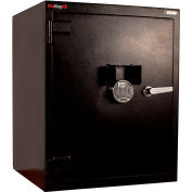 "FireKing Burglar Safe B3024LH-FK1 24""W x 22-5/8""D x 30-1/2""H Electronic Lock 8.23 Cu. Ft. Black"
