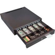 Hercules CD1618 Steel Cash Drawer Keylock Tray with 5 Bill & Coin Compartments