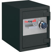 "FireKing 1-HR Fire and Burglary Rated Safe FB2218C1GRE 24-7/16""W x 21-5/8""D x 27-5/16""H 2.9 Cu. Ft."