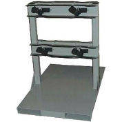 """Forklift Pallet Stand, 24""""W x 36""""D x 34""""H, 4 Cylinder Capacity"""