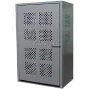 """Cylinder Cabinet, 32""""W x 48""""D x 72""""H, 12 Cylinder Capacity"""