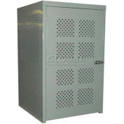"""Cylinder Cabinet, 48""""W x 48""""D x 72""""H, 21 Cylinder Capacity"""