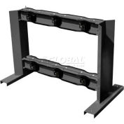 "Floor Stand Rack, 24""W x 44""D x 30""H, 6 Cylinder Capacity"
