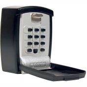 FJM Security KeyGuard Surface Mount Key Storage Lock Box SL-590 - Keypad Lock, Holds 1-5 Keys