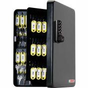 FJM Security KeyGuard Key Safe Cabinet SL-9122-E Electronic Lock 122 Key Cap 4-1/8 x 10-1/2 x 14-1/8