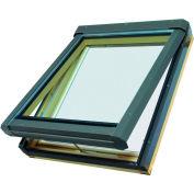 "Fakro 68857 Manual Venting Skylight FV-304, 38""Lx24""Wx10""H, LAM Glass, Wood"