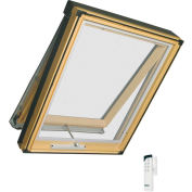 "Fakro 68958 Electric Skylight FVE-306, 50""Lx25""Wx10""H, LAM Glass, Wood"