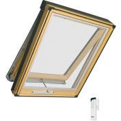 "Fakro 68968 Electric Skylight FVE-806, 54""Lx48""Wx10""H, LAM Glass, Wood"