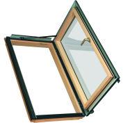 "Fakro 69108 Egress Roof Window FWU-R 24/46 Right Opening, 48""Lx25""Wx10""H, LAM Glass, Wood"