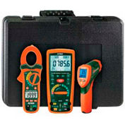 Extech MG300-ETK Electrical Troubleshooting Kit, Orange/Green, Case Included, AC Capable