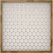 "Flanders 10155.012025 Flat Panel EZ Flow Standard Grade Furnace Filter, 25"" x 20"" x 1"", 12/Pack - Pkg Qty 12"