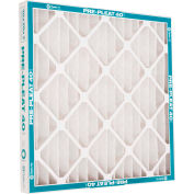 "Flanders 80055.022020 40 High Quality Pleated LPD Panel Filters, 20"" x 20"" x 2"", 12/Pack - Pkg Qty 12"