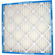 "Flanders 90013.042424 Pre Pleat® M13 Pleated Air Filter, 24"" x 24"" x 4"", MERV 13 - Pkg Qty 6"