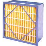 "Flanders PRP85G2412H Rigid Air Filter, 12"" x 24"" x 12"", MERV 13 - Pkg Qty 2"