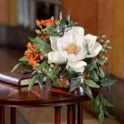 OfficeScapesDirect Southern Charm Silk Flower Arrangement - Cream