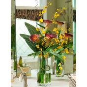 OfficeScapesDirect Calla Lily & Oncidium Orchid Silk Flower Arrangement
