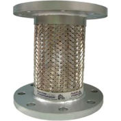 "SS Hose And Braid w/ 150# Plate Steel Flange 9"" X 2.5"""