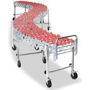 NestaFlex® 22624016N Flexible Conveyor - Poly Skate Wheels - Nylon Bushings 226 Lb. per ft.