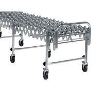 NestaFlex® 22624024S Flexible Conveyor - Steel Skate Wheels - Steel Ball Bearings 226 Lb./ft.