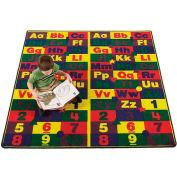 Children Educational Rugs ABC123s 3x6