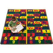 Children Educational Rugs ABC123s  6x6
