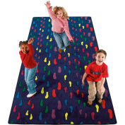 Children's Rugs FOOTPRINTS 12X6