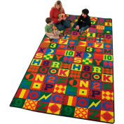 Children Educational Rugs FLOORS THAT TEACH 12X9