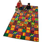 Children Educational Rugs FLOORS THAT TEACH 12X12