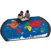 Children Educational Rugs MAPS THAT TEACH 11X8