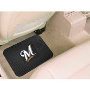 "MLB - Milwaukee Brewers - Heavy Duty Vinyl Utility Mat 14"" x 17"" - 10041"